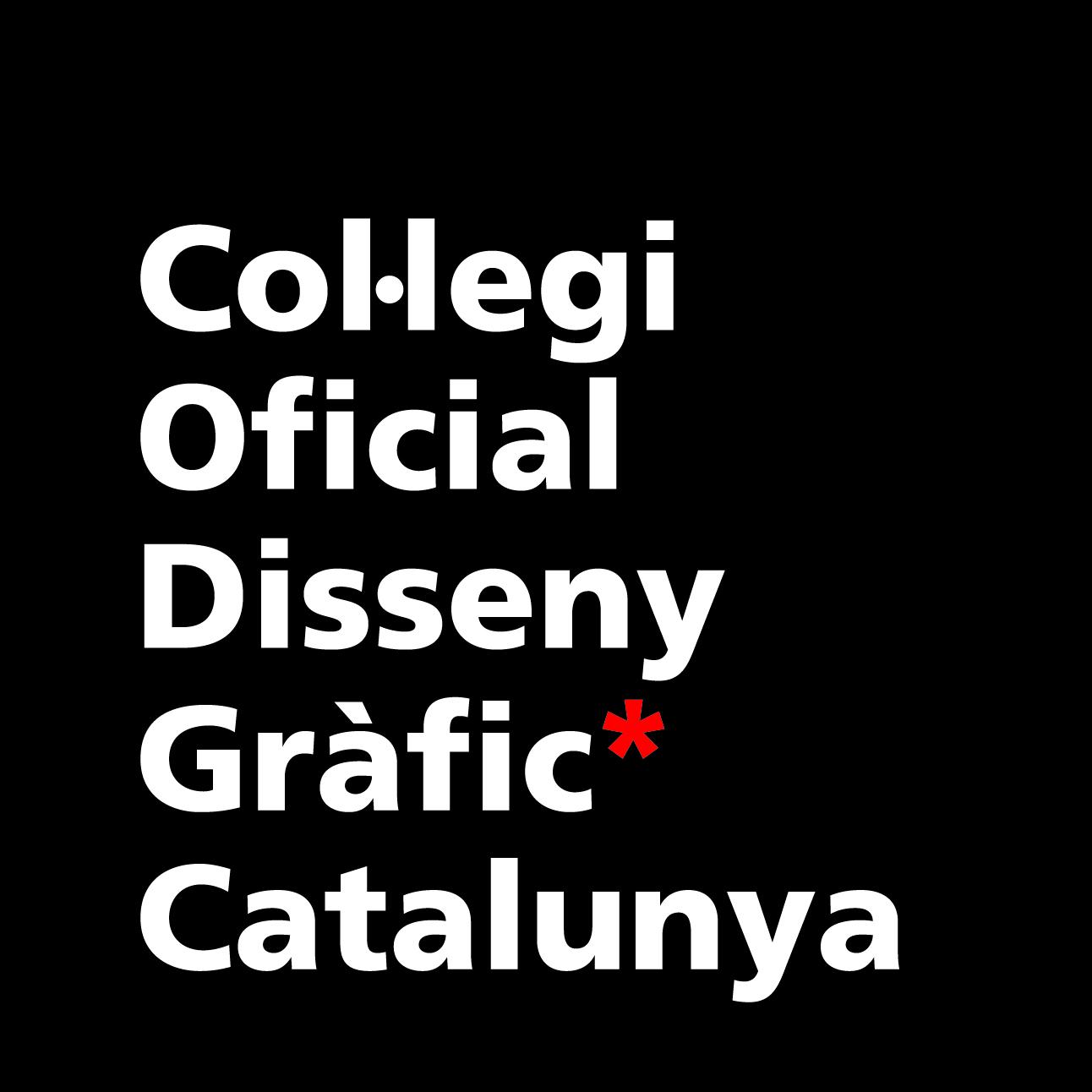 Col.legio Oficial Dissseny Gràfic Catalunya