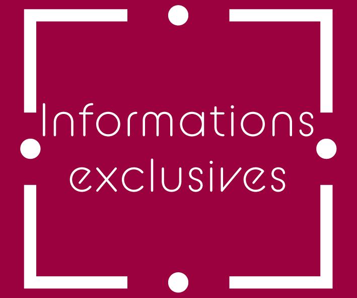 infos exclusives